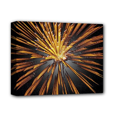 Pyrotechnics Thirty Eight Deluxe Canvas 14  X 11