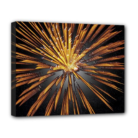 Pyrotechnics Thirty Eight Deluxe Canvas 20  X 16