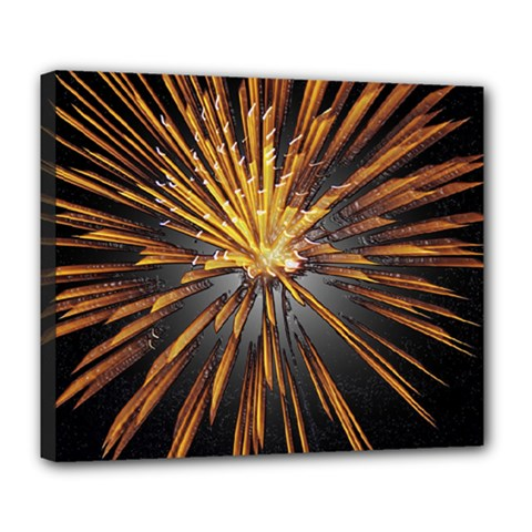 Pyrotechnics Thirty Eight Deluxe Canvas 24  X 20