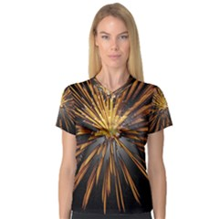 Pyrotechnics Thirty Eight V Neck Sport Mesh Tee
