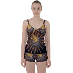 Pyrotechnics Thirty Eight Tie Front Two Piece Tankini