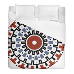 Mandala Art Ornament Pattern Duvet Cover (full/ Double Size)