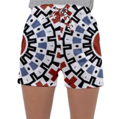 Mandala Art Ornament Pattern Sleepwear Shorts