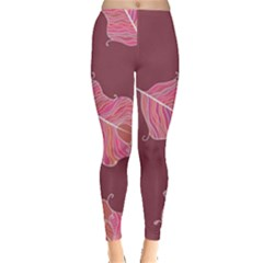 Plumelet Pen Ethnic Elegant Hippie Leggings