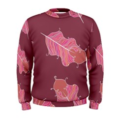 Plumelet Pen Ethnic Elegant Hippie Men s Sweatshirt