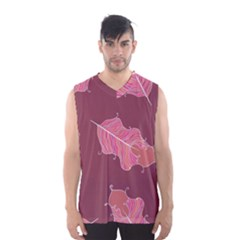 Plumelet Pen Ethnic Elegant Hippie Men s Basketball Tank Top