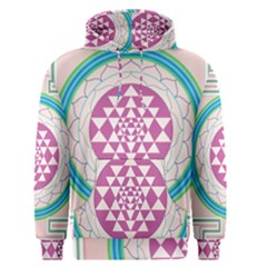 Mandala Design Arts Indian Men s Pullover Hoodie