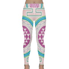 Mandala Design Arts Indian Classic Yoga Leggings