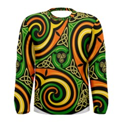 Celtic Celts Circle Color Colors Men s Long Sleeve Tee