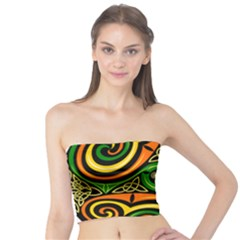 Celtic Celts Circle Color Colors Tube Top