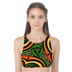 Celtic Celts Circle Color Colors Tank Bikini Top