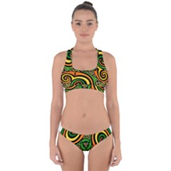 Celtic Celts Circle Color Colors Cross Back Hipster Bikini Set