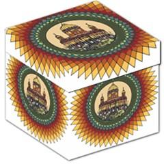 Building Mandala Palace Storage Stool 12
