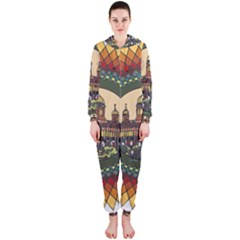 Building Mandala Palace Hooded Jumpsuit (ladies)