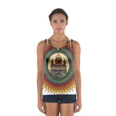 Building Mandala Palace Sport Tank Top