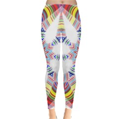 Colorful Chromatic Psychedelic Leggings