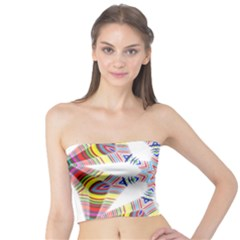 Colorful Chromatic Psychedelic Tube Top