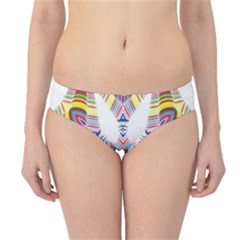 Colorful Chromatic Psychedelic Hipster Bikini Bottoms