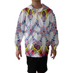 Colorful Chromatic Psychedelic Hooded Wind Breaker (kids)