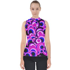Retro Pattern 1973d Shell Top