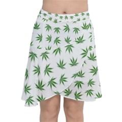 Marijuana Pattern Chiffon Wrap