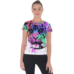 Tiger Short Sleeve Sports Top