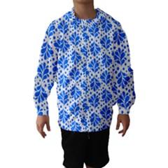 Water Drops Pattern Hooded Wind Breaker (kids)