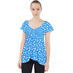 Cloud Pattern Dolly Top
