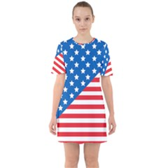 Usa Flag Mini Dress