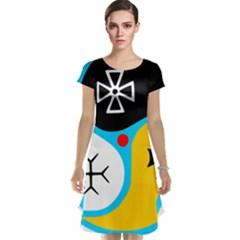 Assianism Symbol Cap Sleeve Nightdress