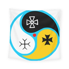 Assianism Symbol Square Tapestry (small)