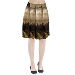 Borobudur Temple Indonesia Pleated Skirt