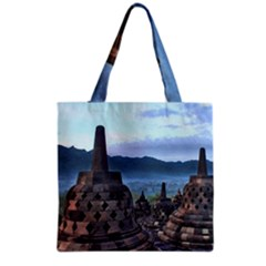 Borobudur Temple  Morning Serenade Grocery Tote Bag