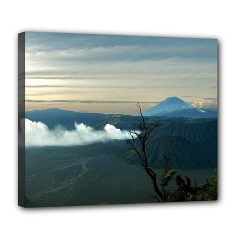 Bromo Caldera De Tenegger  Indonesia Deluxe Canvas 24  X 20