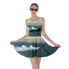 Bromo Caldera De Tenegger  Indonesia Skater Dress
