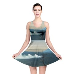 Bromo Caldera De Tenegger  Indonesia Reversible Skater Dress