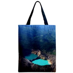 Kelimutu Crater Lakes  Indonesia Zipper Classic Tote Bag
