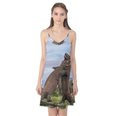 Komodo Dragons Fight Camis Nightgown