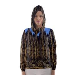 Prambanan Temple Hooded Wind Breaker (women)