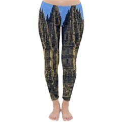 Prambanan Temple Classic Winter Leggings