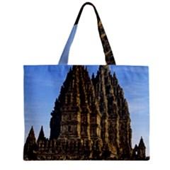 Prambanan Temple Zipper Mini Tote Bag