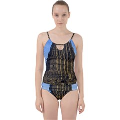 Prambanan Temple Cut Out Top Tankini Set