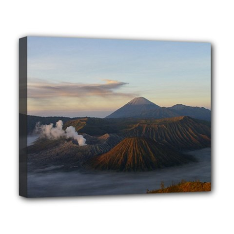 Sunrise Mount Bromo Tengger Semeru National Park  Indonesia Deluxe Canvas 20  X 16