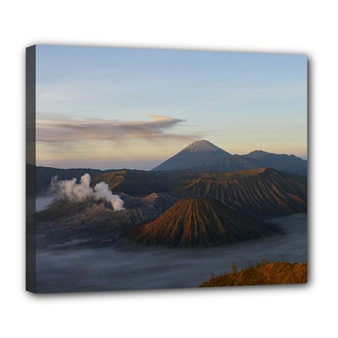 Sunrise Mount Bromo Tengger Semeru National Park  Indonesia Deluxe Canvas 24  X 20