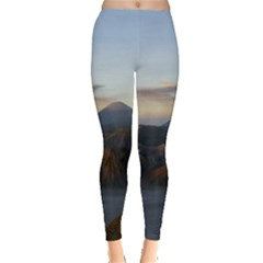 Sunrise Mount Bromo Tengger Semeru National Park  Indonesia Leggings