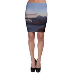 Sunrise Mount Bromo Tengger Semeru National Park  Indonesia Bodycon Skirt