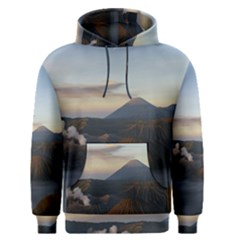 Sunrise Mount Bromo Tengger Semeru National Park  Indonesia Men s Pullover Hoodie