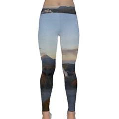 Sunrise Mount Bromo Tengger Semeru National Park  Indonesia Classic Yoga Leggings