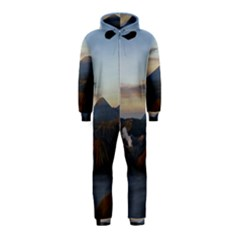 Sunrise Mount Bromo Tengger Semeru National Park  Indonesia Hooded Jumpsuit (kids)
