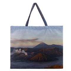 Sunrise Mount Bromo Tengger Semeru National Park  Indonesia Zipper Large Tote Bag